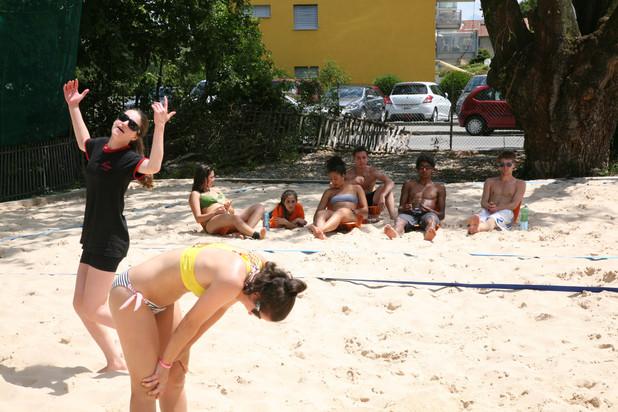 Stage de beach volley de juillet 2013