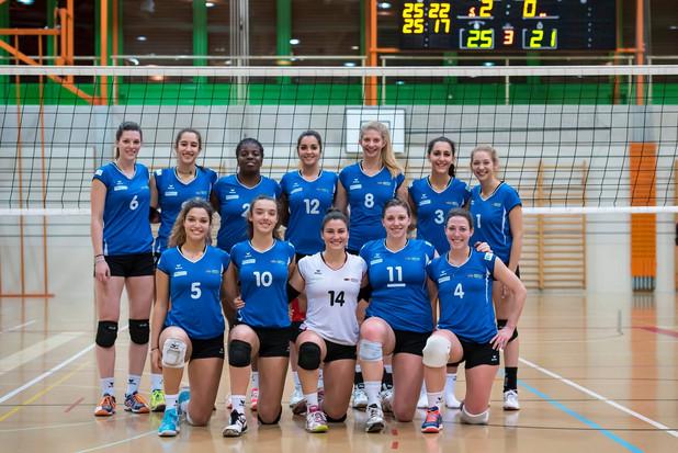 Match indoor féminin
