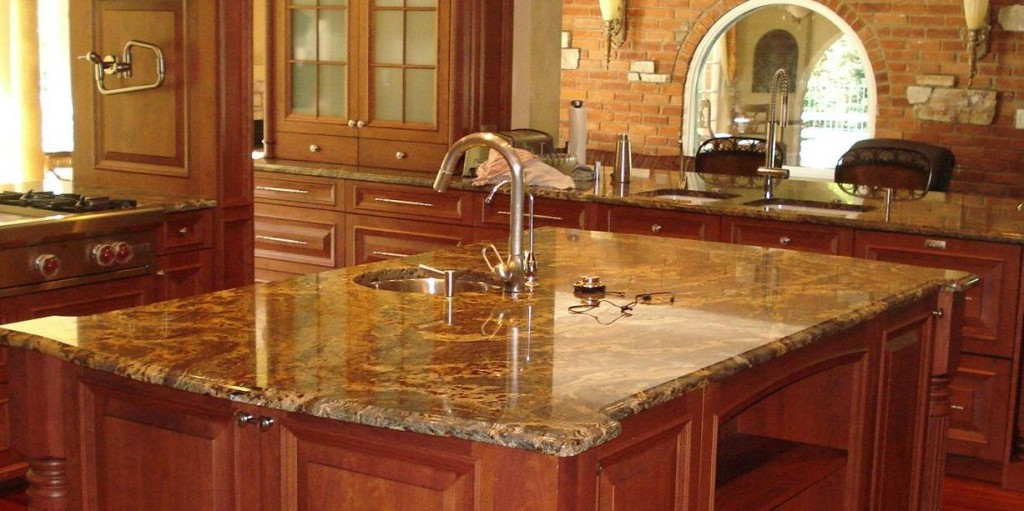 Dark Kitchen Cabinets With Granite Counters Pictures