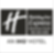 holiday inn express logo- black and whit