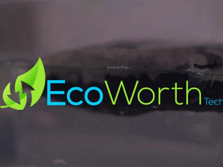 Unboxing Startups featured EcoWorth Tech's CFA Sponge solution that Can Absorb Impurities From Water
