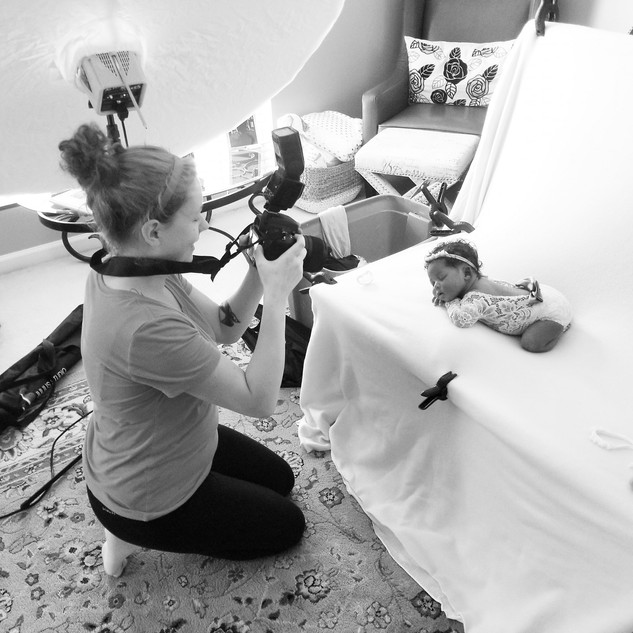 Victoria Griest Photography behind the scenes