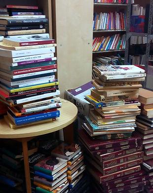 Donació llibres lliures