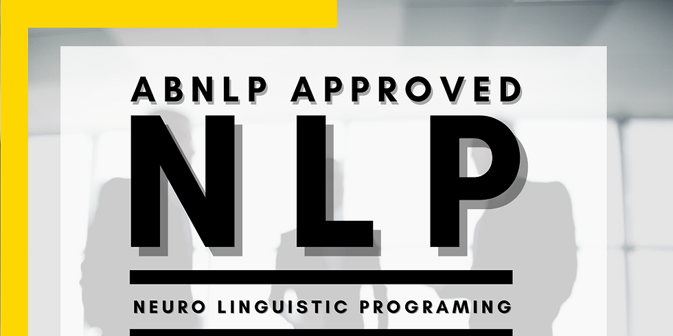 Certified NLP Practitioner & Master Practitioner