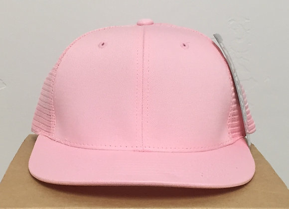 12 Pink Vented Snapback Hats