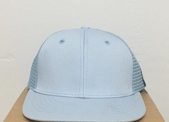 12 Light Blue Snapback Magic Hats
