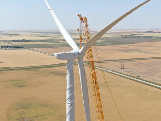 Goldwind installs 1st turbines at 200-MW Canadian project