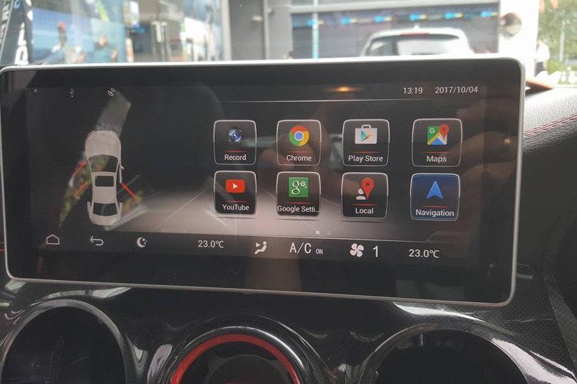 Mercedes A/CLA/GLA Upgraded 10 25 Inch Media Screen