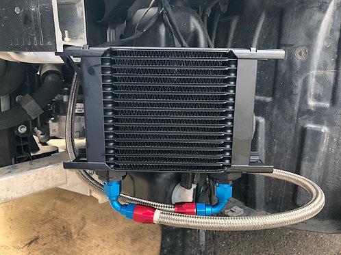 45 AMG engine oil cooler