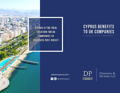 Cyprus Benefits to UK Companies Front Co