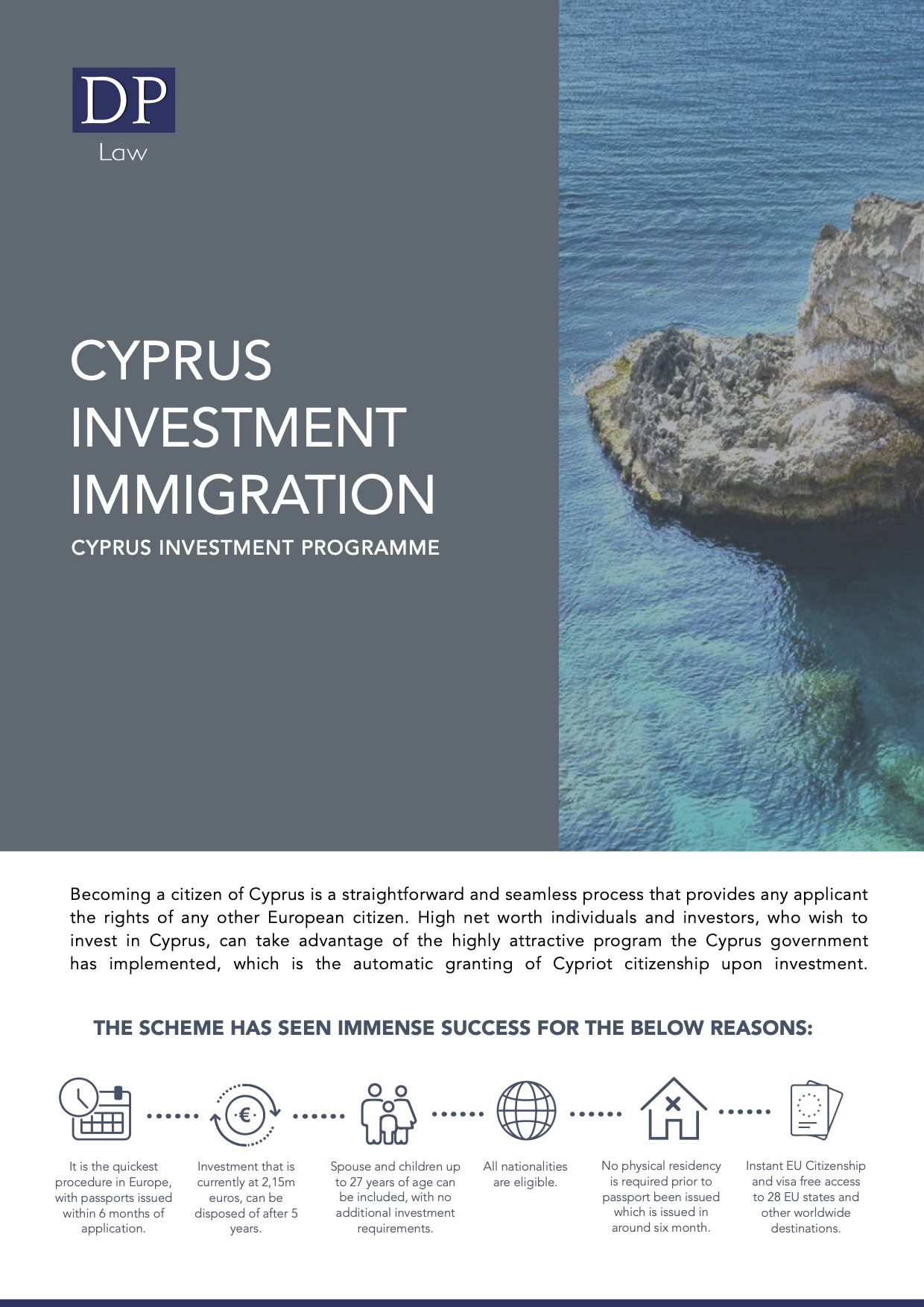 Dionysiou Partners LLC Investment Immigration Borchure