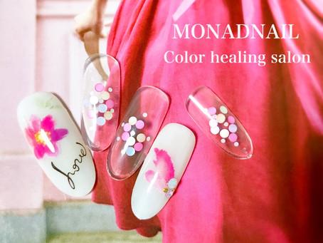 ♥Happy pink nail