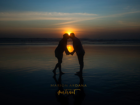 Sunset Portrait and Family Lifestyle Photoshoot in Bali