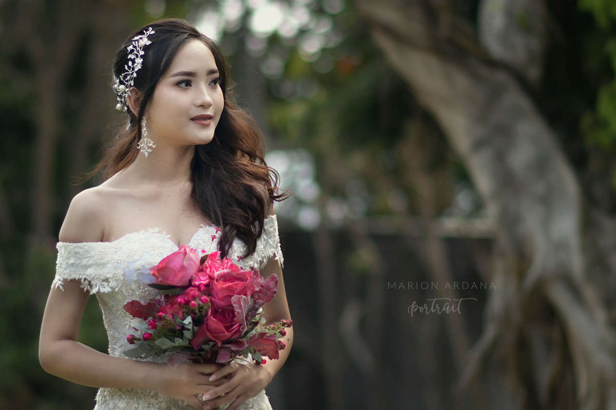 Beautiful Wedding Theme Portrait Bali