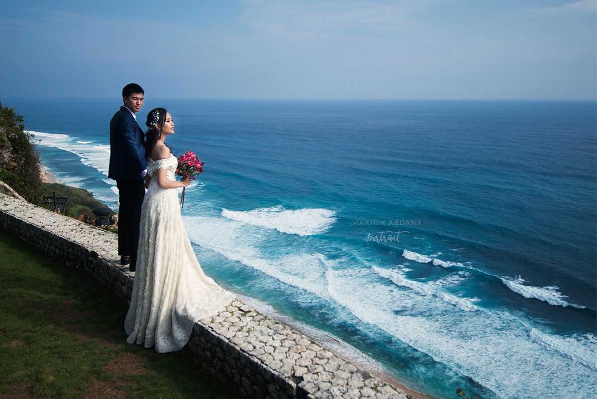 A Couples Portrait in Bali