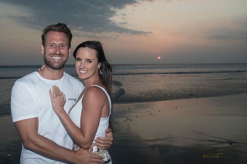 Sunset Couples Photoshoot Bali