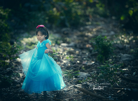 A Themed Children's Portrait Photoshoot in Bali