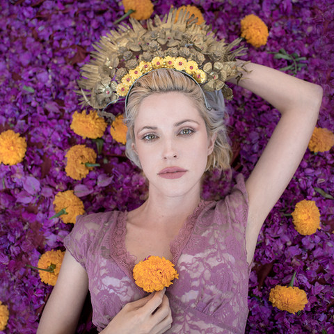 Goddess Glamour Portrait