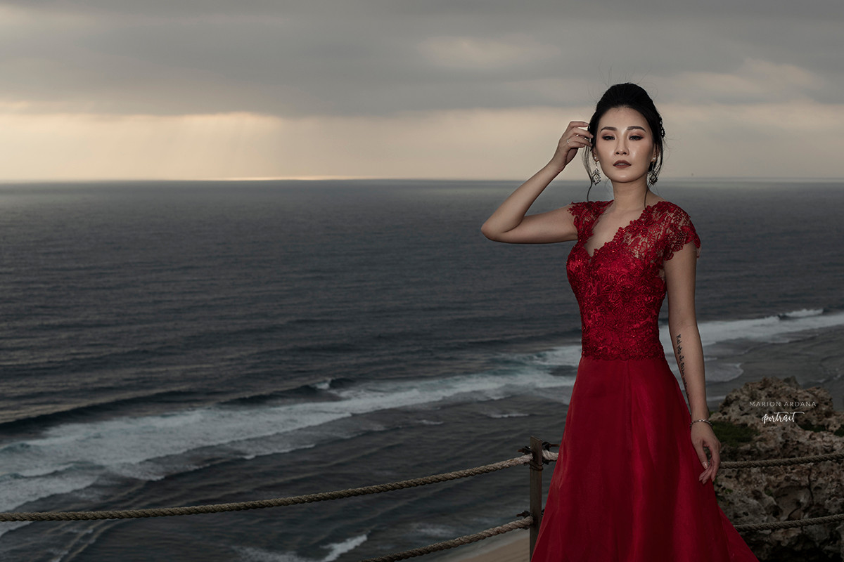 Ocean backdrop Portrait