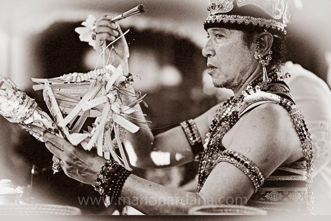 High Priest, Bali Ritual