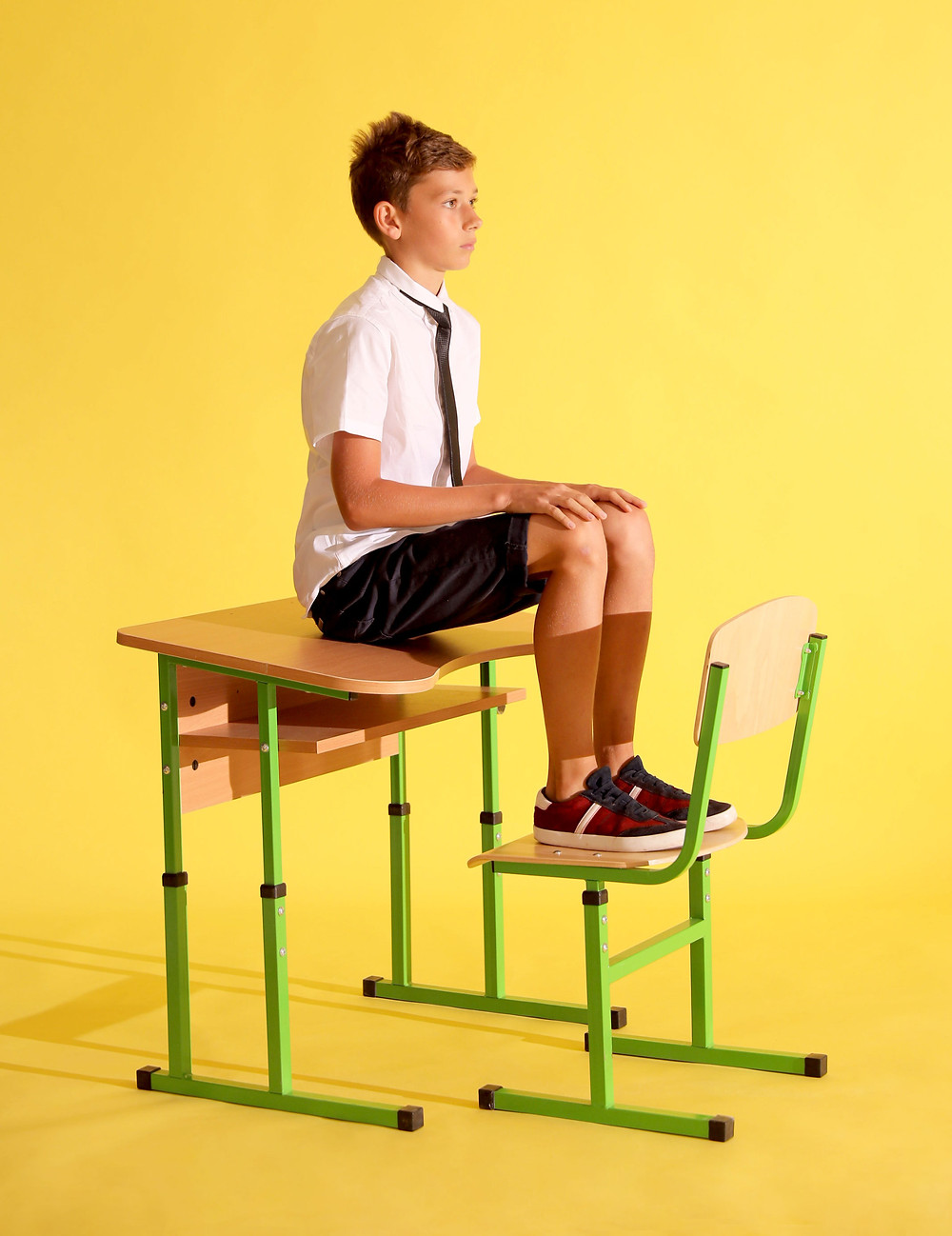 kid in school