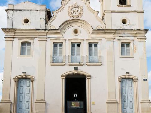 A cidade histórica de Penedo e suas igrejas
