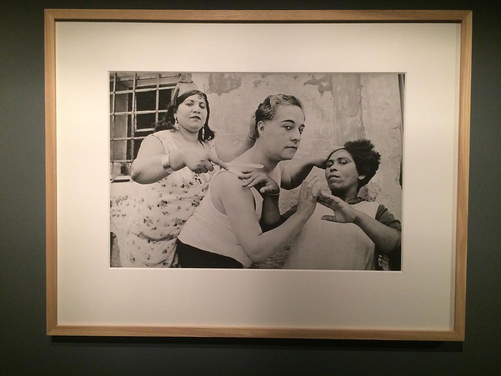 Fotografia de Henri Cartier-Bresson em exposição na FIESP