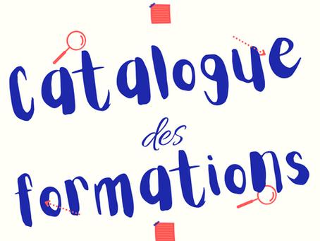 Catalogue des formations 2021/2022
