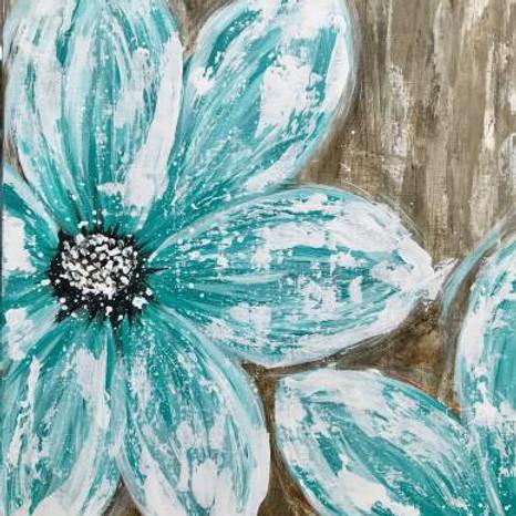 Sunday 8/1 Blue Blooms