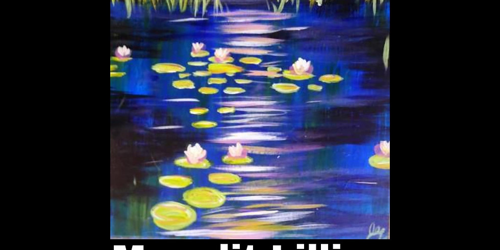 Saturday 7/24- Moonlit Lillies