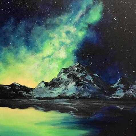 Thursday 8/12 Mountain Galaxy