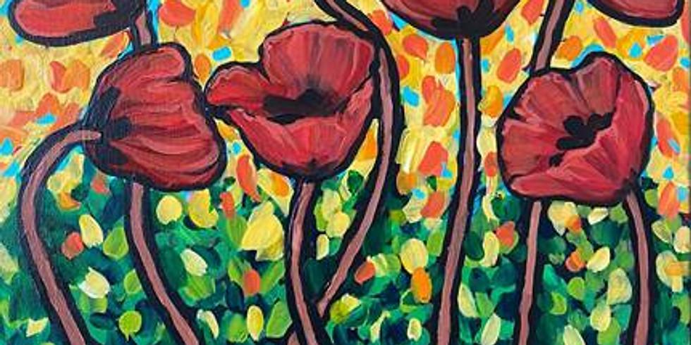 GNO Wednesday 10/6 Painter's Poppies