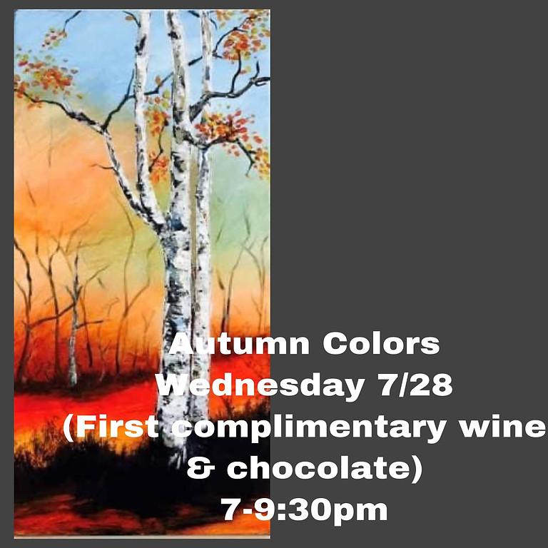 GNO Wednesday 7/28 -  Autumn Colors
