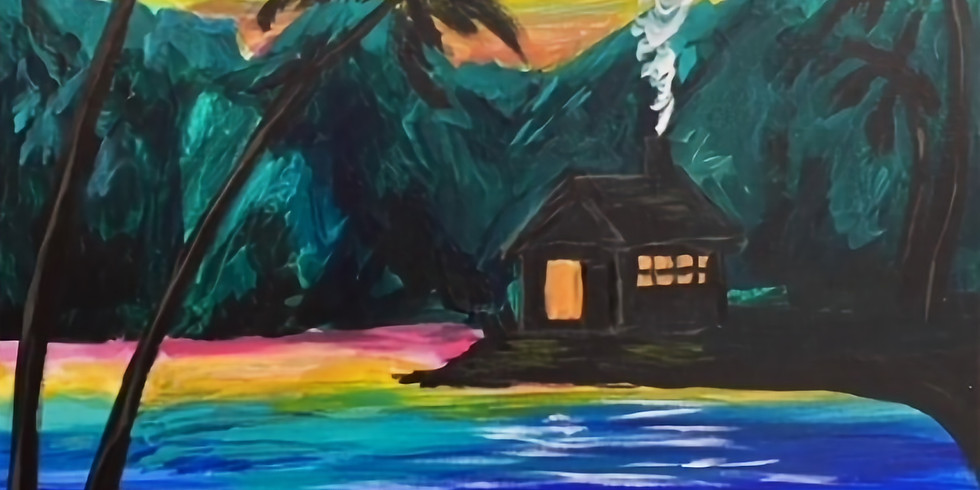 Friday10/1 Moonlit Cabin