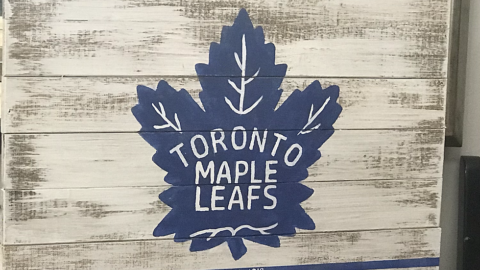 Vintage Toronto Maple Leaf Sign