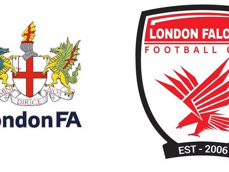 London Falcons Affiliate with London FA
