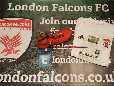 London Falcons Support #RainbowLaces