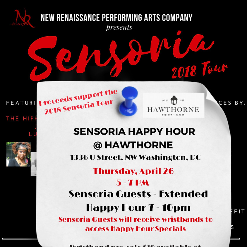 Sensoria Happy Hour