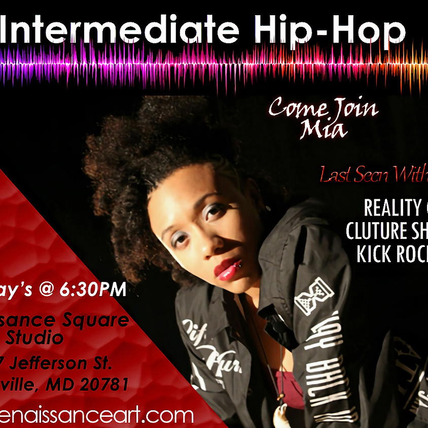 Intermediate Hip-Hop with Mia