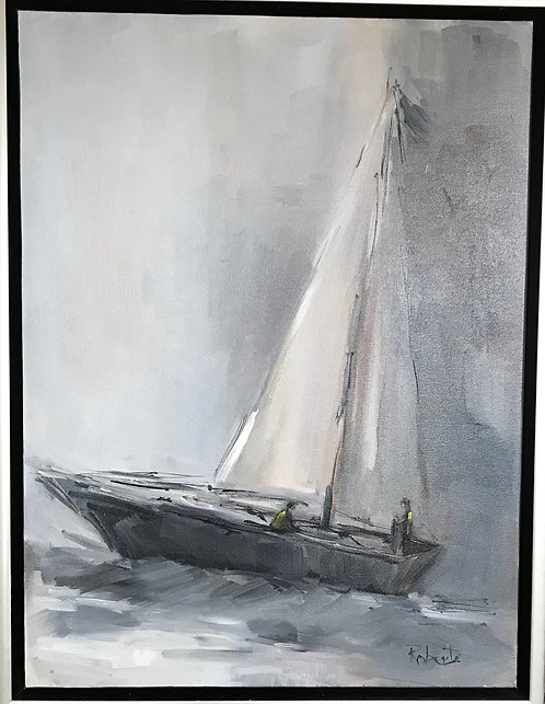 """""""Sailing through the Night"""" By Joan Roberts"""