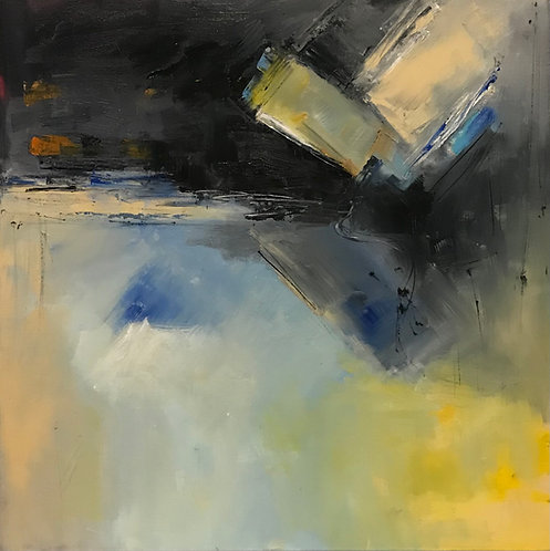 """Peaceful I""  by Joan Roberts 20X20, Original Oil"