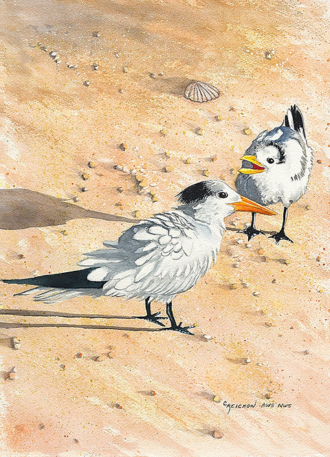"""""""Did You Hear Me?"""" Giclée Reproduction by Christine Reichow"""