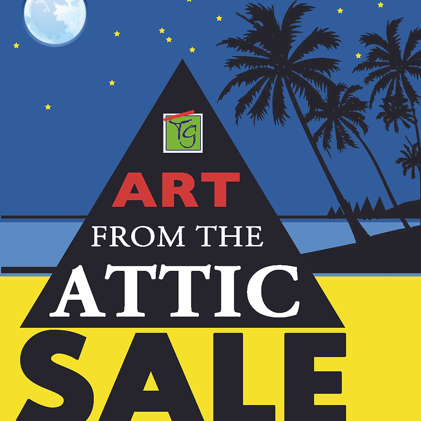 """""""Art From The Attic Sale"""" October 22-24th"""