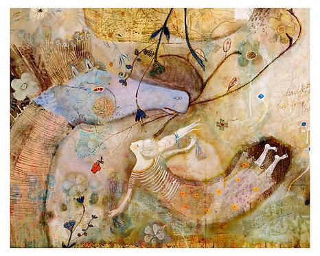 """""""Fly Free"""" 16x20 Print by Sarah Kiser"""