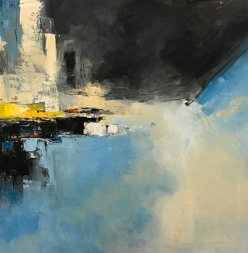 """Peaceful ll"" by Joan Roberts  20X20, Original Oil"