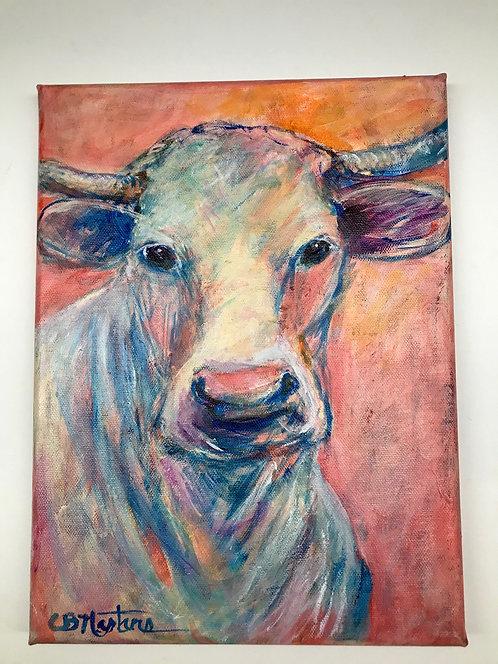 "DREAM GIRL 9""x12"" 0riginal acrylic painting by Carole Nastars"