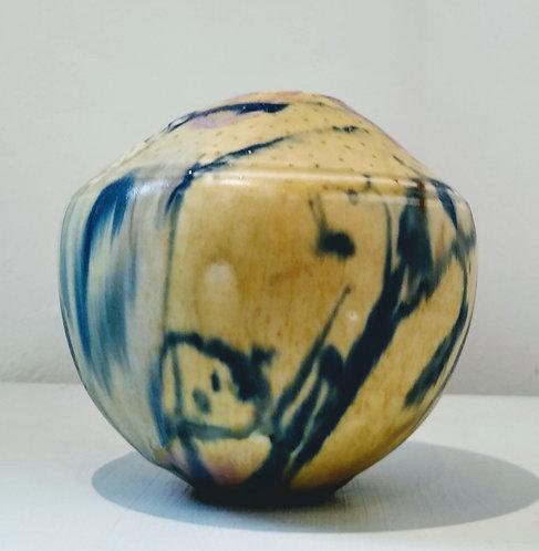 """Ludmila Evans """"Misty"""" Original porcelain vessel"""