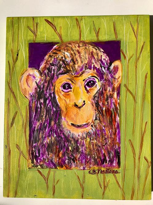 'Monkey Business' original painting by Carole Nastars