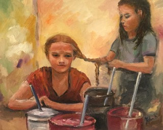 """Girls being Girls"" by Joan Roberts. $1,300"