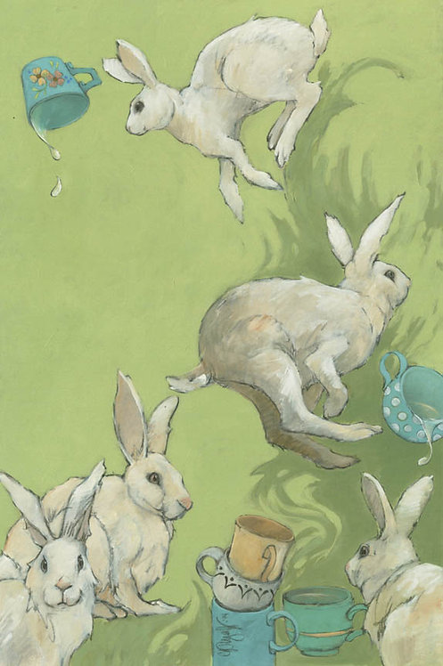 AT THE HOP signed print by C P Wyatt